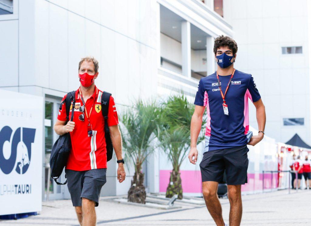 Sebastian Vettel and Lance Stroll - FirstSportz