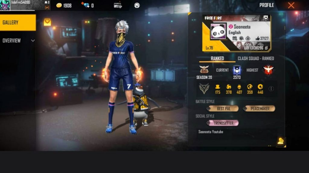 queen of free fire