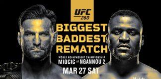 Stipe Moicic vs Francis Ngannou 2