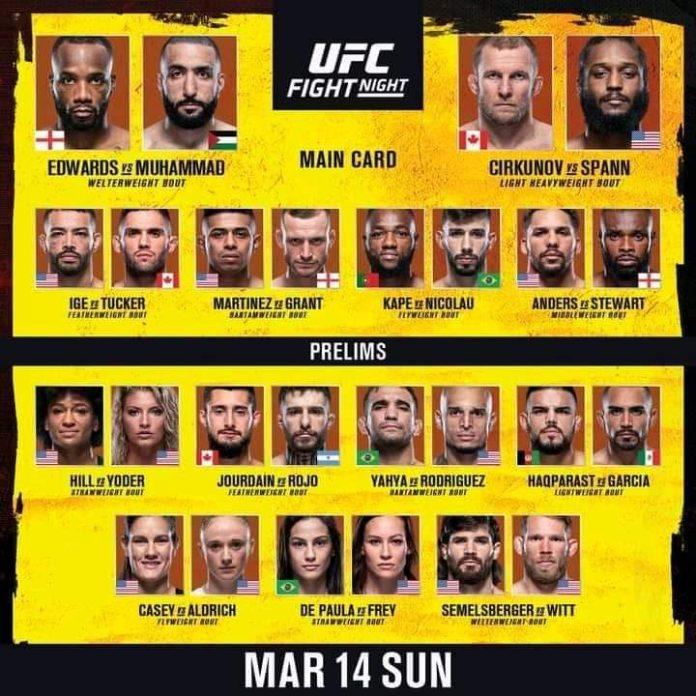 UFC Fight Night 187