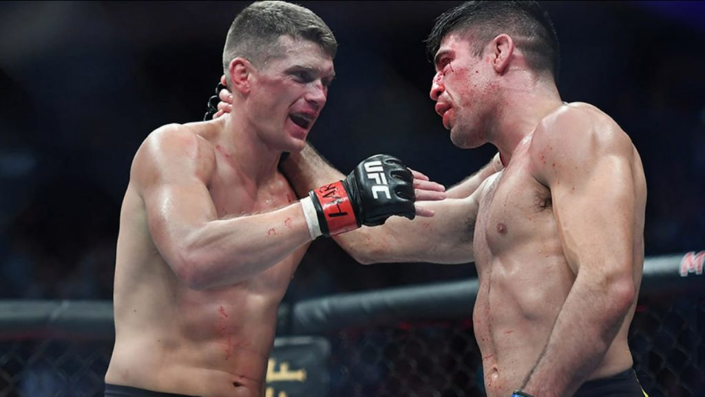 Vicente Luque and Stephen Thompson - FirstSportz