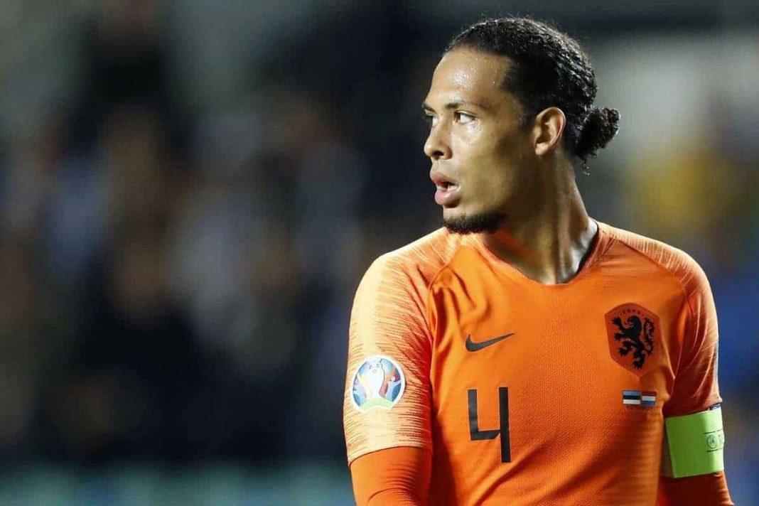 Virgil Van Dijk for Netherlands