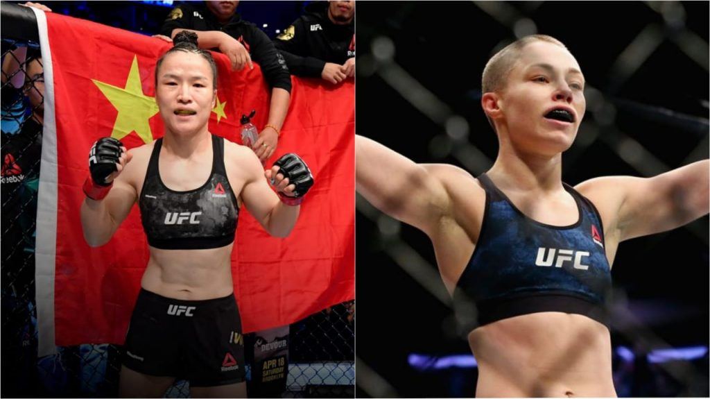 Weili Zhang and Rose Namajunas - FirstSportz