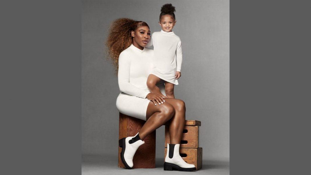 Serena Williams Olympia Ohanian