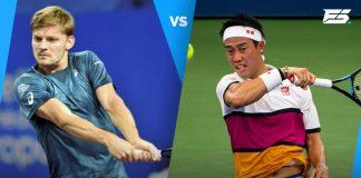 David Goffin vs Kei Nishikori