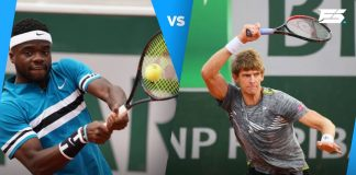Frances Tiafoe and Kevin Anderson