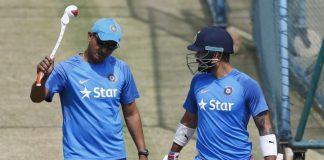 Sanjay Bangar and Virat Kohli