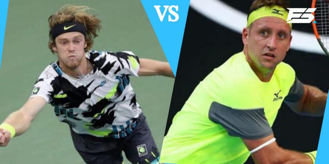 Andrey Rublev vs Tennys Sandgren