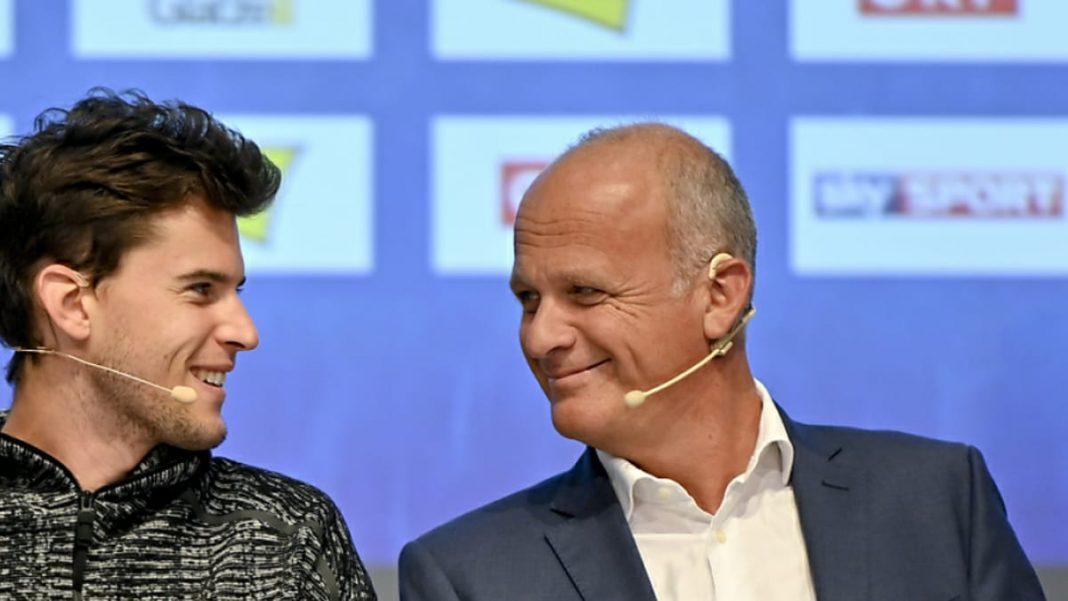 Dominic Thiem and Herwig Straka