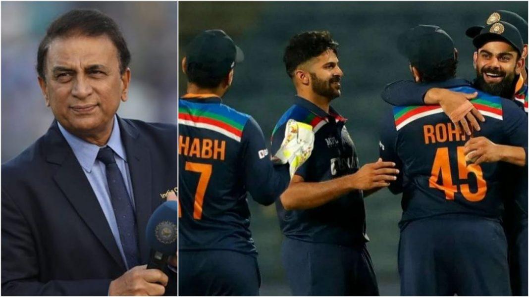 Sunil Gavaskar and Team India