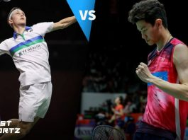 men's singles final off all england open viktor axelsen lee zii jia