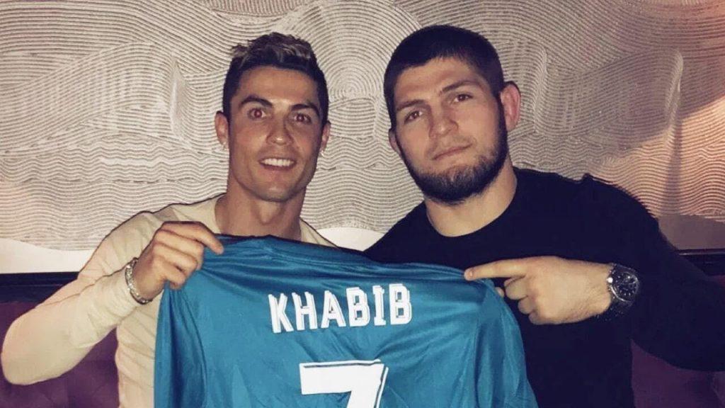 khabib ronaldo - FirstSportz
