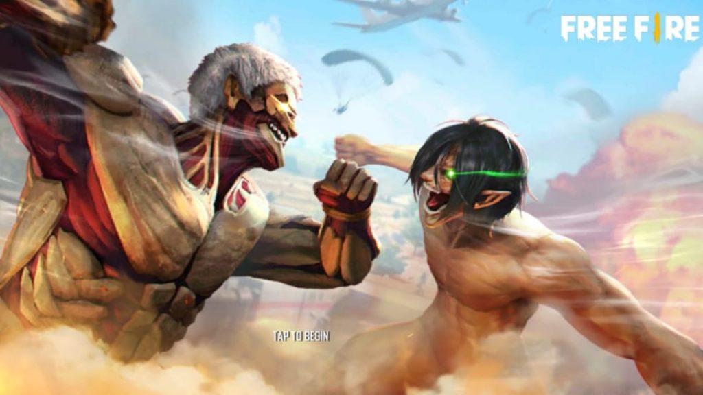 Free Fire X Attack on Titans