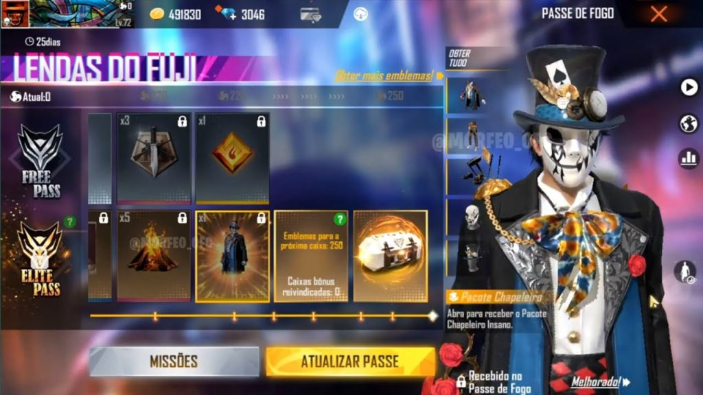 Free Fire March Clips Event