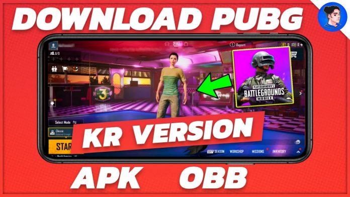 PUBG Mobile 1.3 KR Version APK Downloading Link