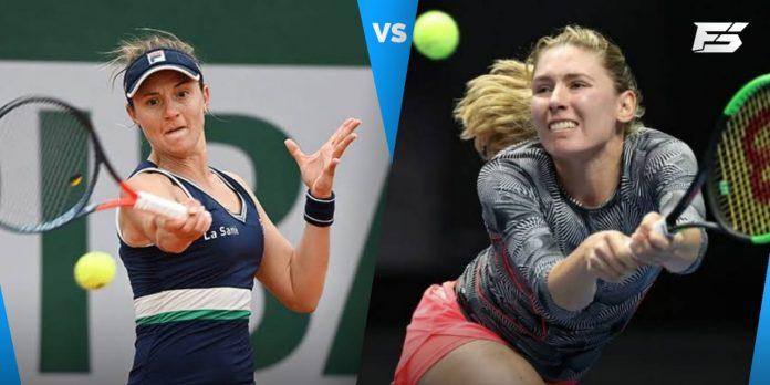 Ekaterina Alexandrova vs Nadia Podoroska