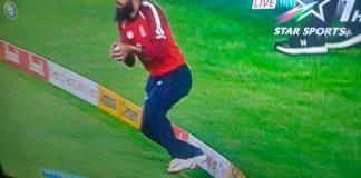 Adil Rashid catch