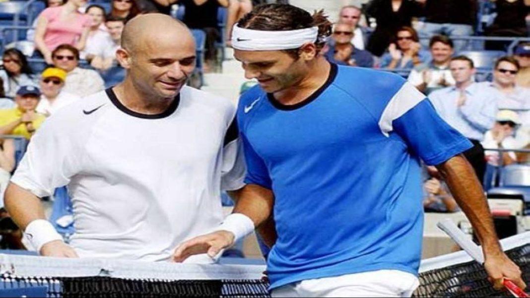 Andre Agassi Roger Federer
