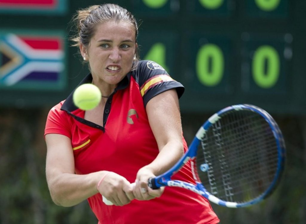 sara sorribes tormo before today i played against ivanovic on wii - FirstSportz