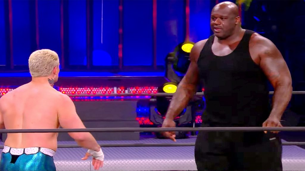 shaquille o neal cody rhodes