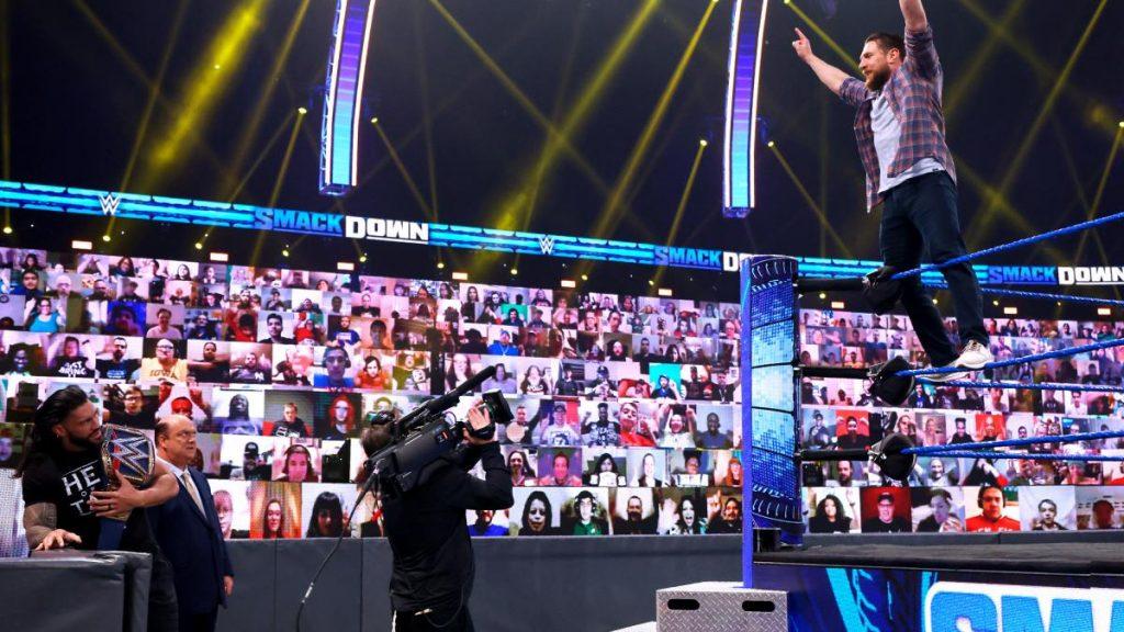 Daniel Bryan and Roman Reigns
