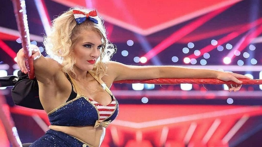 Lacey Evans has a military background