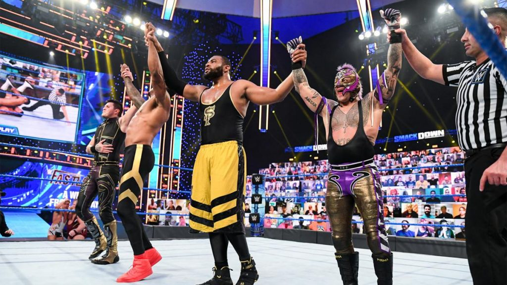 Street Profits and The Mysterios