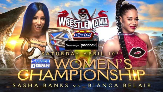 sasha banks bianca belair wrestlemania 37