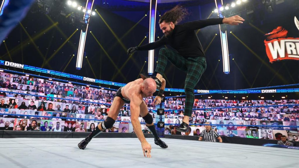 Seth Rollins and Cesaro