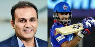 Virender Sehwag and Prithvi Shaw