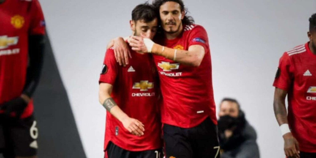 Manchester United thrashed Roma at Old Trafford