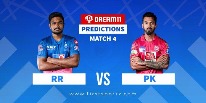 RR vs PBKS IPL 2021