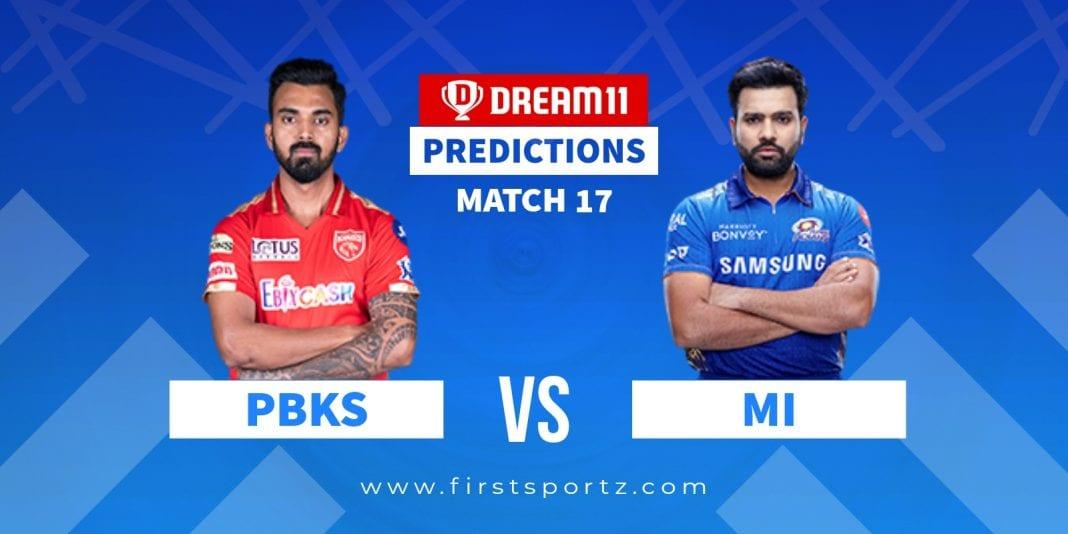PBKS vs MI IPL 2021