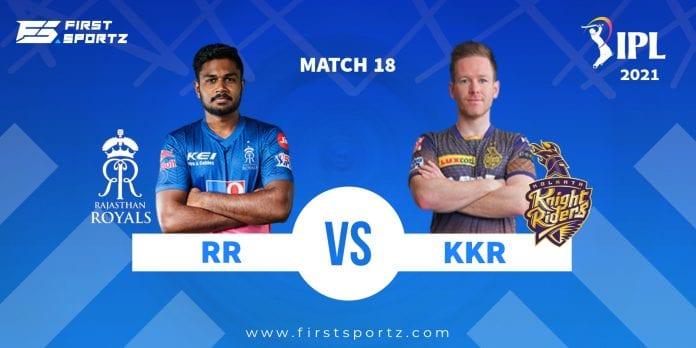RR vs KKR