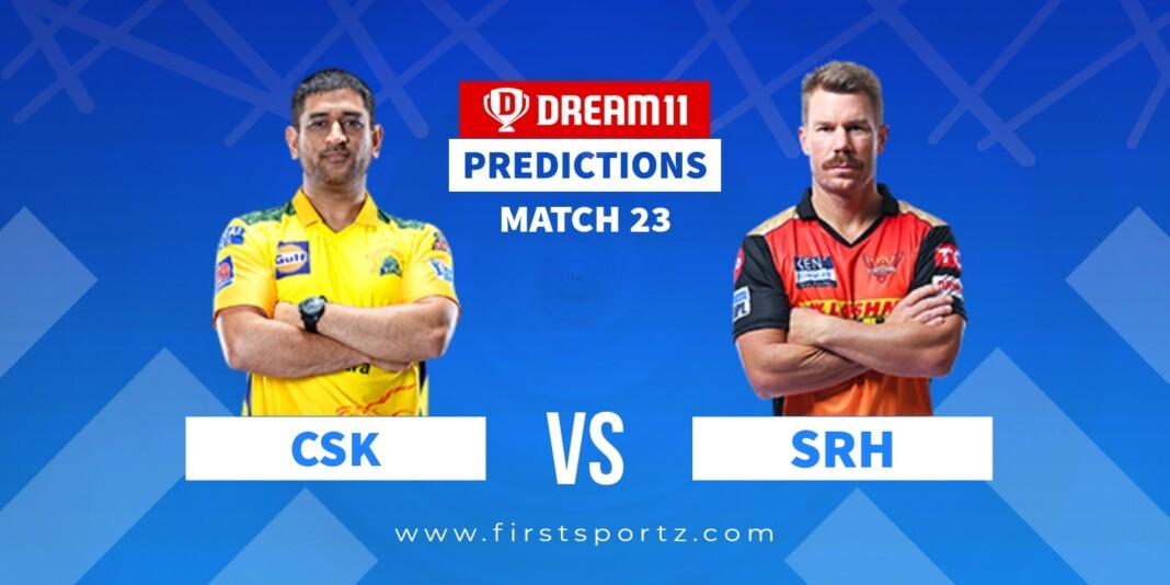 CSK vs SRH IPL 2021