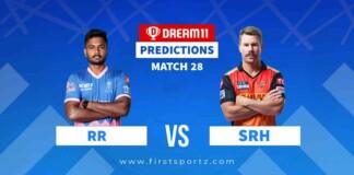 RR vs SRH IPL 2021