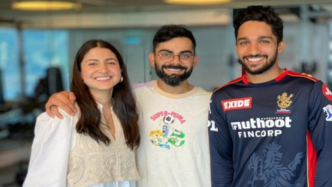 Anushka Sharma, Virat Kohli and Mohammed Azharuddeen