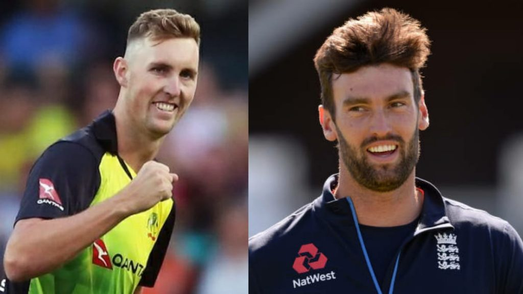 Billy Stanlake and Reece Topley