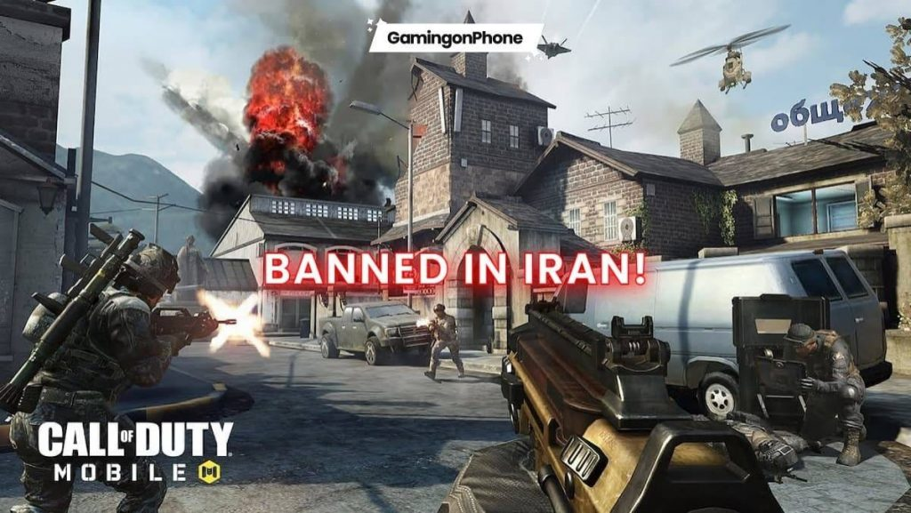 COD Mobile Ban in Iran