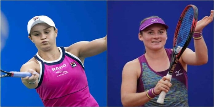 Ashleigh Barty vs Tamara Zidansek