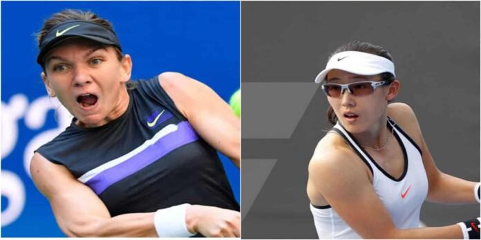 Simona Halep vs Saisai Zheng