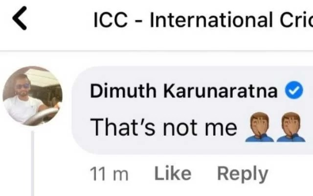 Dimuth Karunaratne