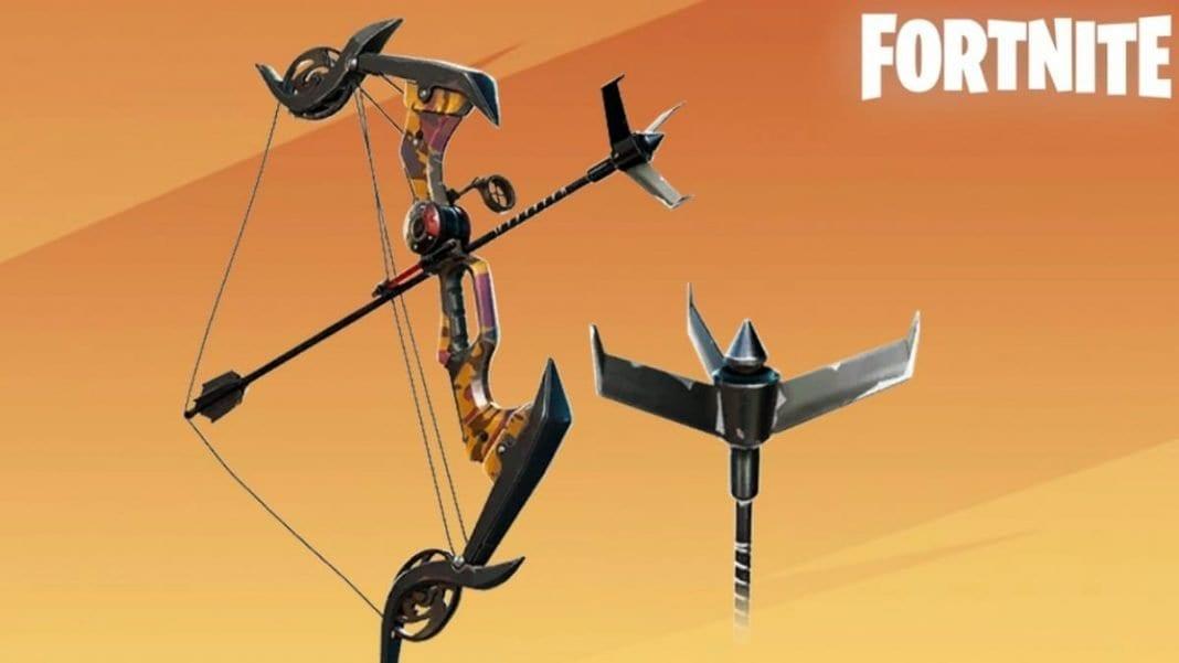 Exotic Grappler Bow in Fortnite