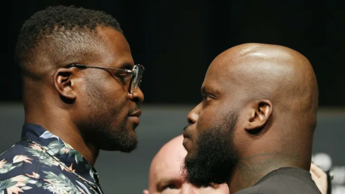 Francis Ngannou vs. Derrick Lewis