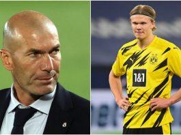 Haaland and Zidane
