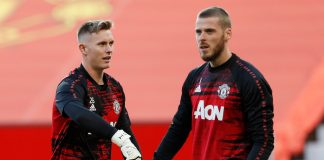 Henderson and David De Gea will fight it out for the starting goalkeeping spot for United for the rest of the season