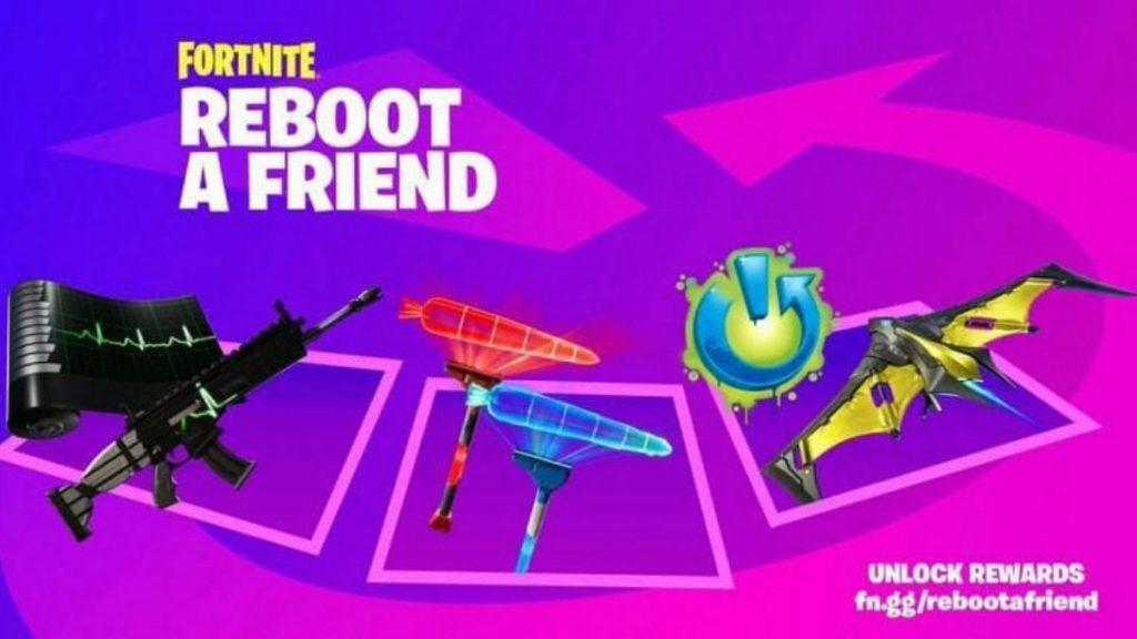 Reboot a friend rewards