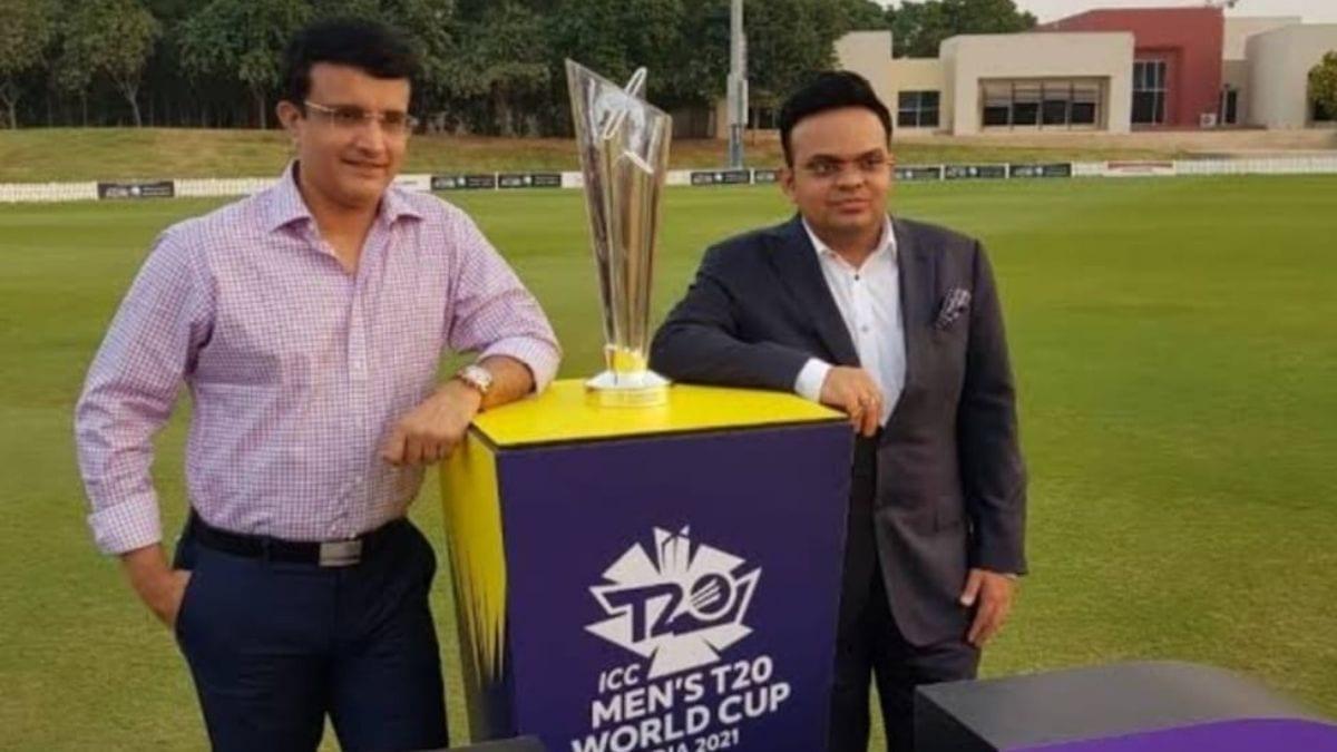 Saurav Ganguly and Jay Shah