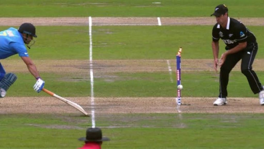 MS Dhoni World Cup 2019 Runout