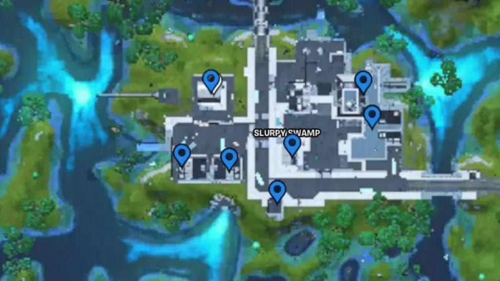 Fortnite Safe Locations